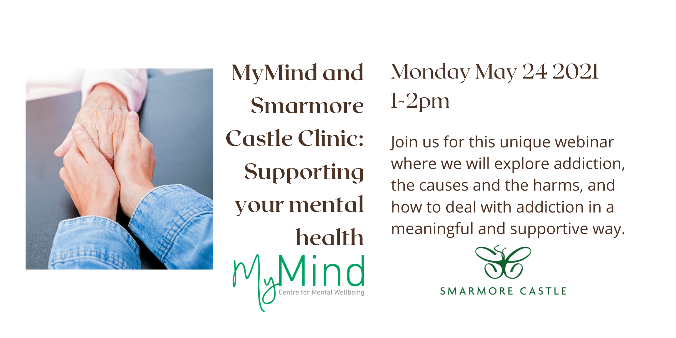 MyMind and Smarmore Castle Clinic: Supporting your Mental Health webinar