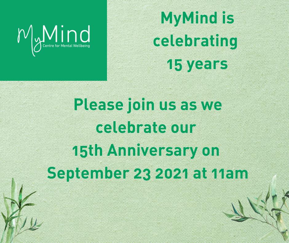 MyMind 15th Anniversary Celebration Event (online)