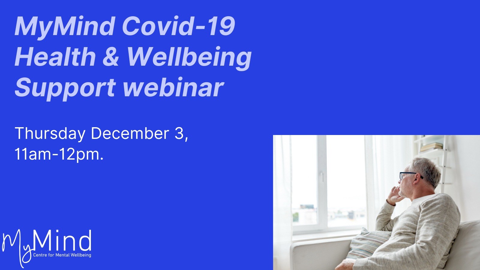 MyMind Webinar Series: Loneliness and Isolation